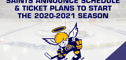 Saints Announce Schedule and Ticket Plans to Start the 2020-2021 Season