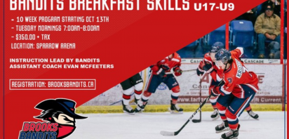Bandits announce new Hockey Development program, now accepting registrations