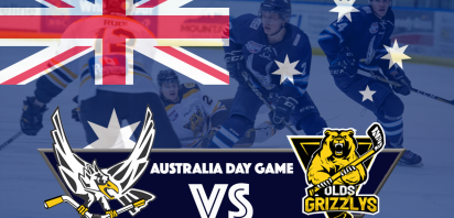 Australia Day Game - Canmore Eagles vs. Olds Grizzlys