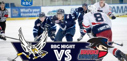 RBC NIGHT - Canmore Eagles vs. Brooks Bandits