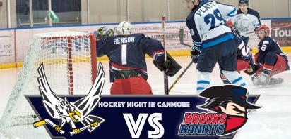 Hockey Night In Canmore - Canmore Eagles vs. Brooks Bandits