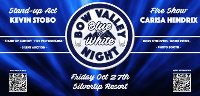 Bow Valley Blue & White Night