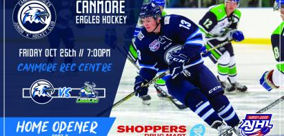 Home Opener Part 2 - Canmore Eagles vs. Calgary Canucks