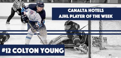 Canalta Hotel AJHL Player of the Week