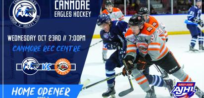 Home Opener Part 1 - Canmore Eagles vs. Drumheller Dragons