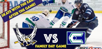 Family Day Home Game - Canmore Eagles vs. Calgary Canucks