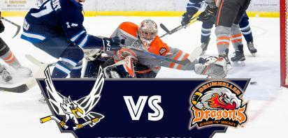 HOME GAME - Canmore Eagles vs. Drumheller Dragons
