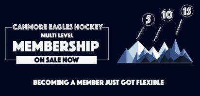 Canmore Eagles Membership Options