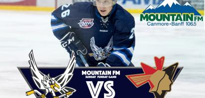 106.5 Mountain FM Sunday Funday Game - Canmore Eagles vs. Bonnyville Pontiacs