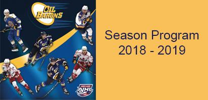 2018-19 Season Program - Now Available