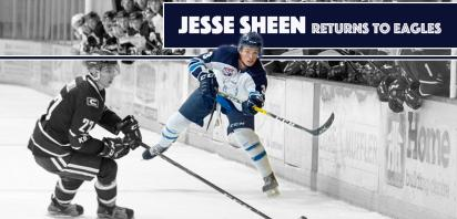Jesse Sheen Returns to Eagles Lineup