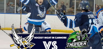 HOME GAME - Hockey Night in Canmore - Eagles vs. Thunder