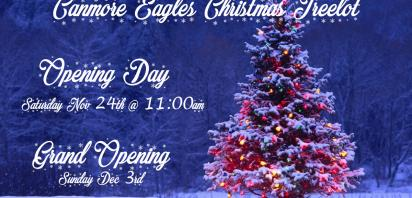 Canmore Eagles Christmas Tree Lot